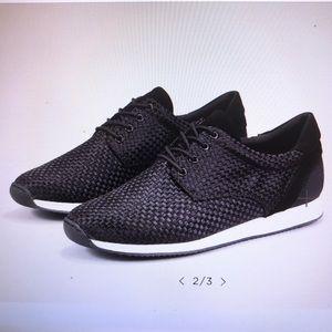 Vagabond Kasai Black Textile Sneakers